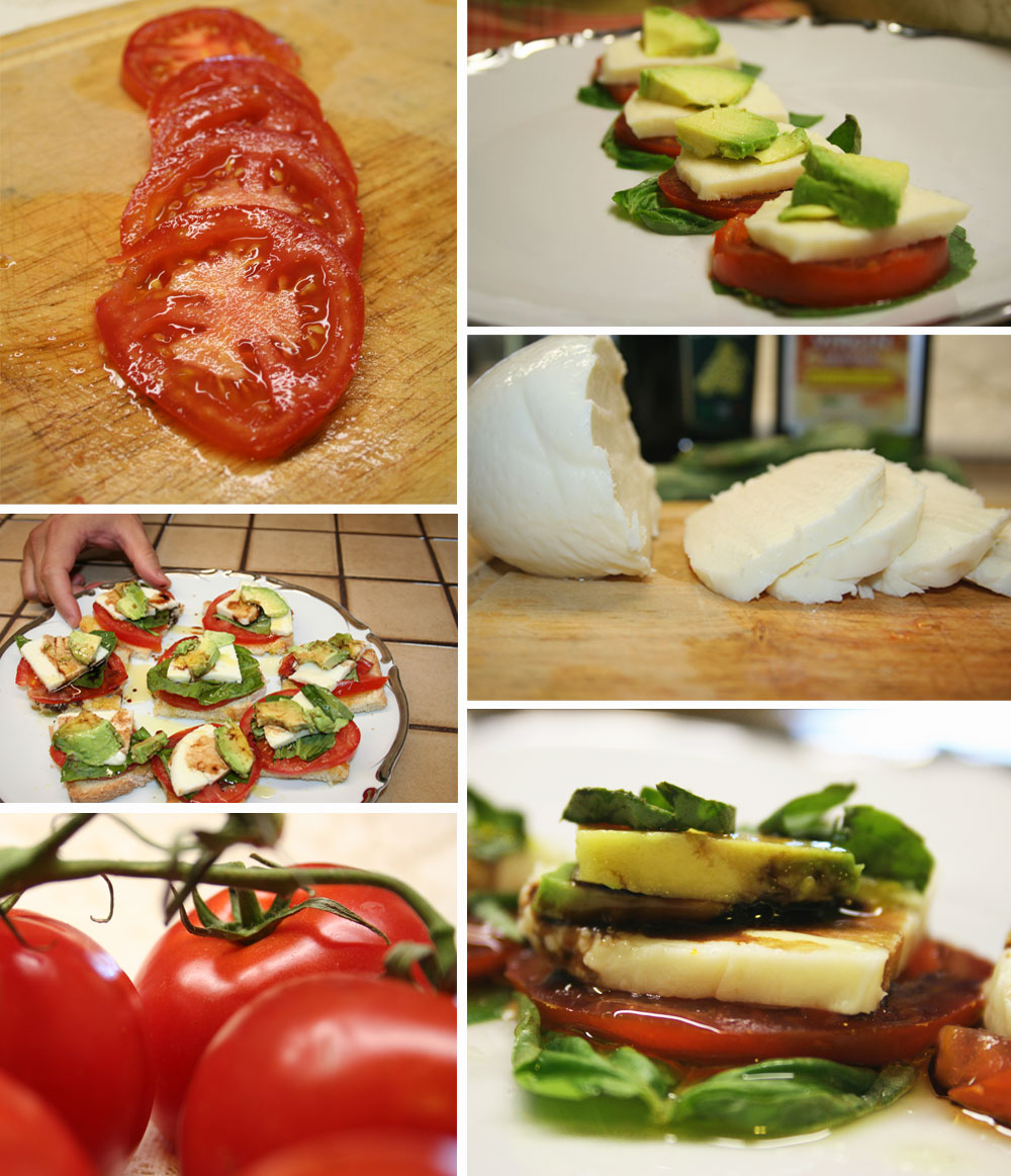 The Vegetarian Blog - Caprese