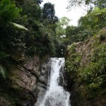 Waterfall in Yunque
