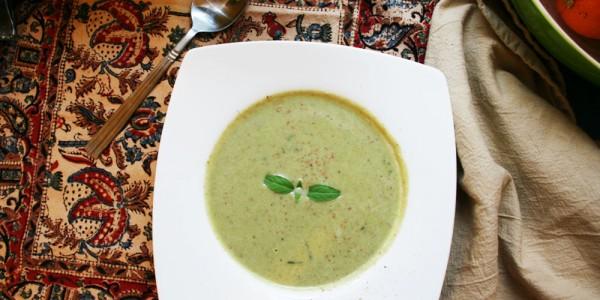 Brocolli & Almond Soup