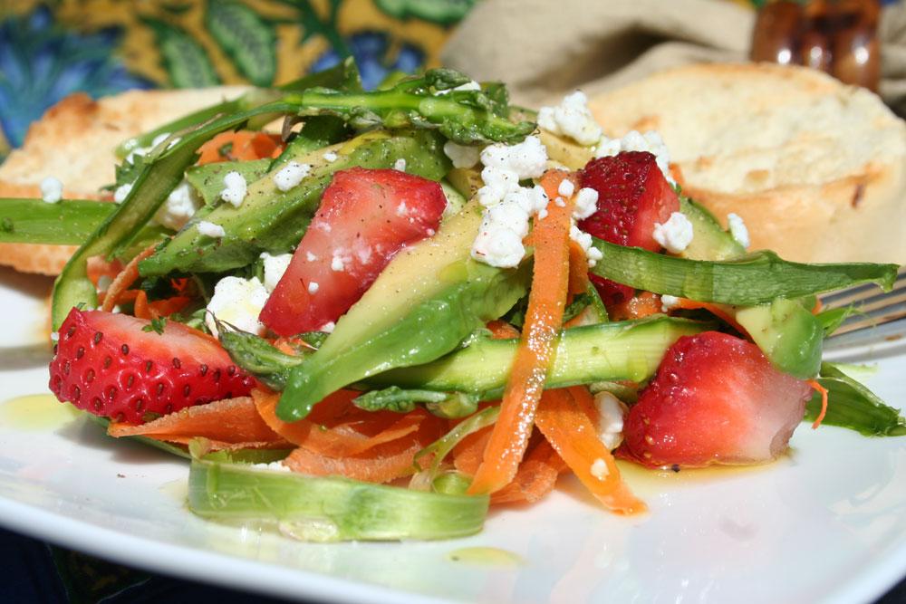 Aspragus Salad