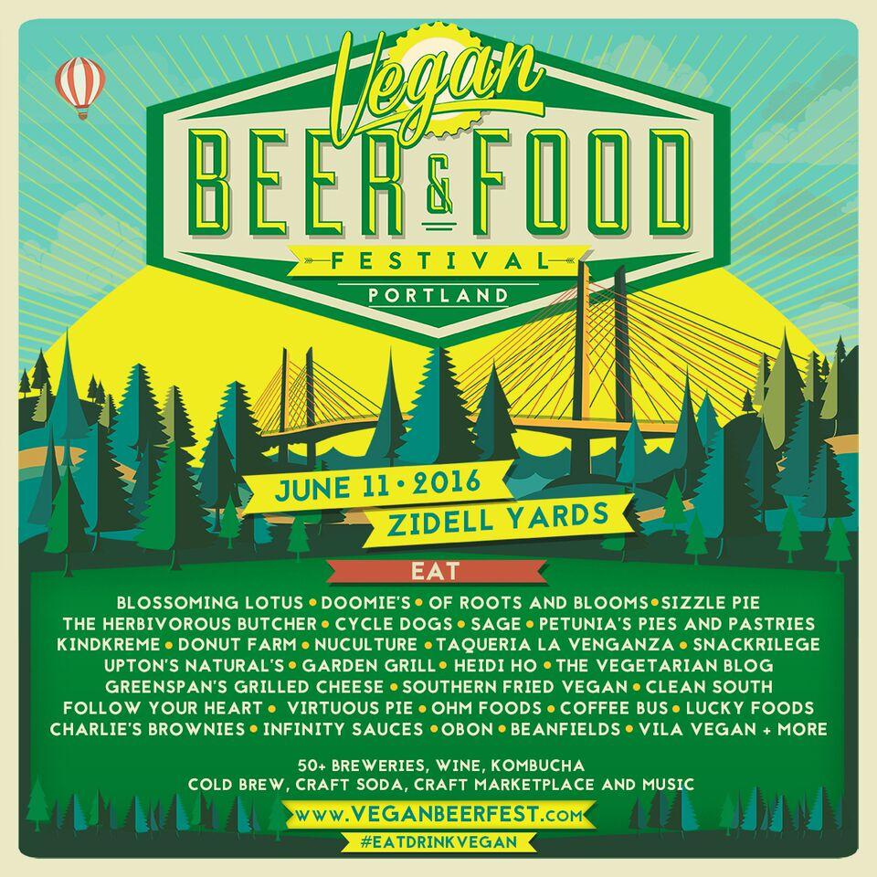 vegan beer fest portland