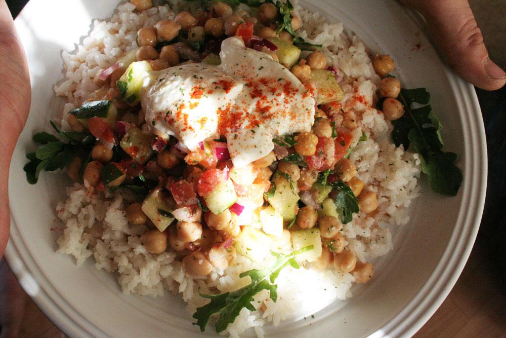 Garbanzo Rice Salad