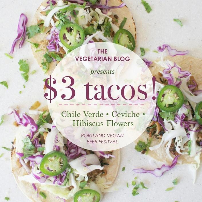 vegan chile verde tacos